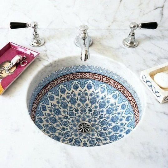 9 ways to spruce up your bathroom - Moroccan Style Sink