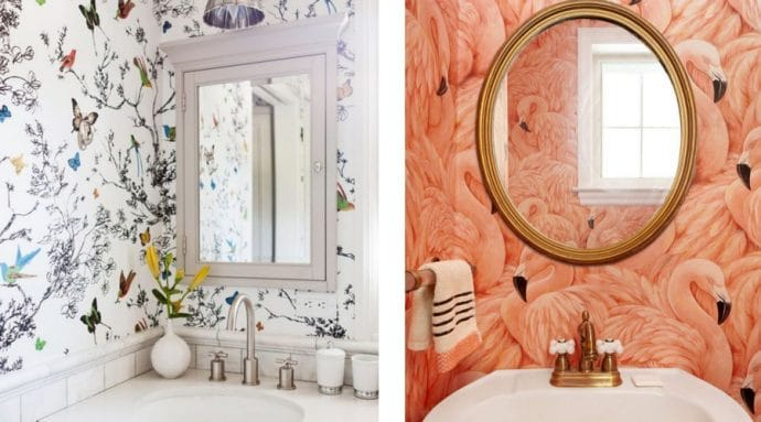 9 ways to spruce up your bathroom - Bathroom Wallpaper