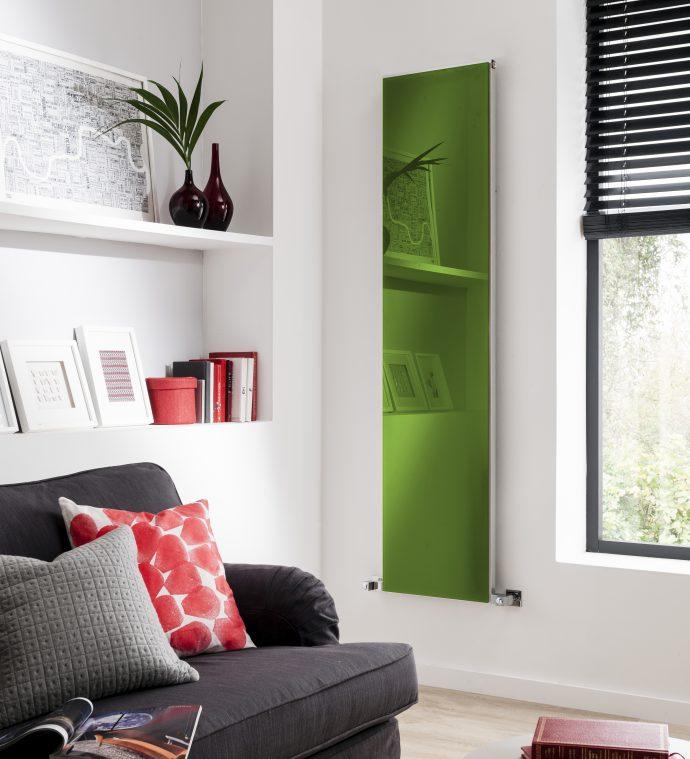 2017 Embraced Pantone Greenery - Copy Classic Green Luminous - From DesignerRadiatorShowroom.co.uk