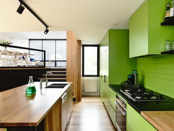 2017 Embraced Pantone Greenery - Image From Clifton Hill House / Preston Lane Architects - Photographer Derek Swalwell