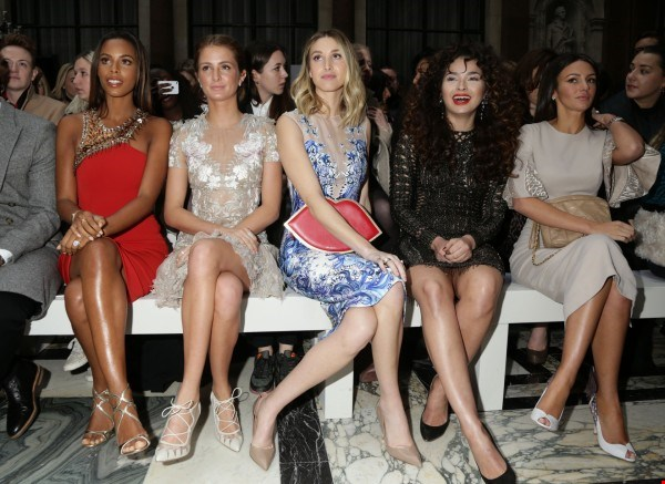 Celebrities London Fashion Week 2015