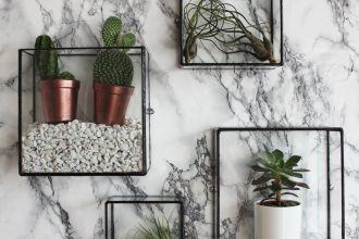 Top 5 Interior Design Trends in 2017 - Image From Etsy.com - Pappus Square Box Wall Mount
