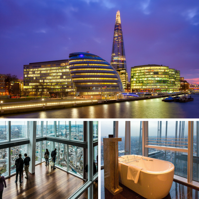 Living It Up In London's Tallest Buildings - The Shard London