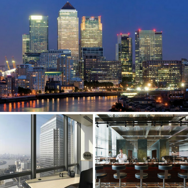 Living It Up In London's Tallest Buildings - Canada Square