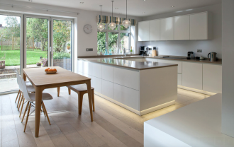 Beat back the shadows with under kitchen cabinet LED lighting