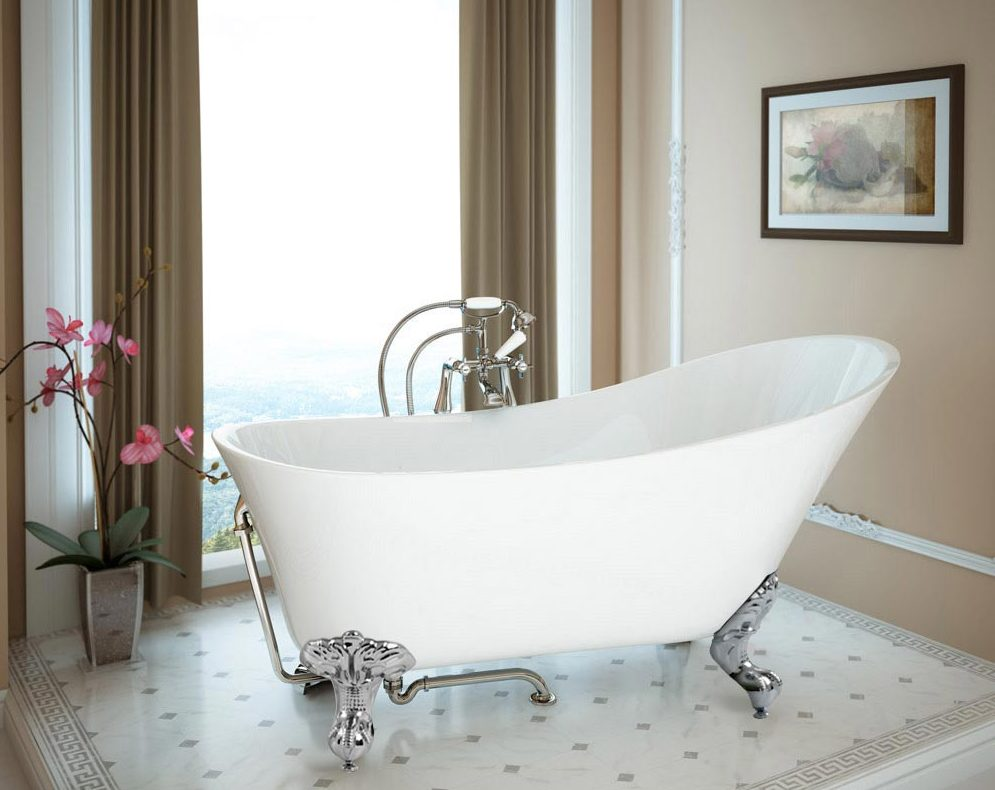 How to turn your bathroom into a home spa - Harlow Bath - From VictoriaPlumbing