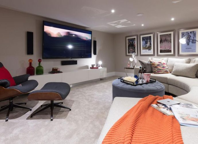 Home Cinema Installation: Do's And Dont's - Lymington Shores' show home - Image From The Telegraph