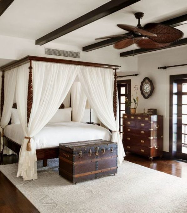 How To create The Ideal Traditional Bedroom - Four-Poster Bed