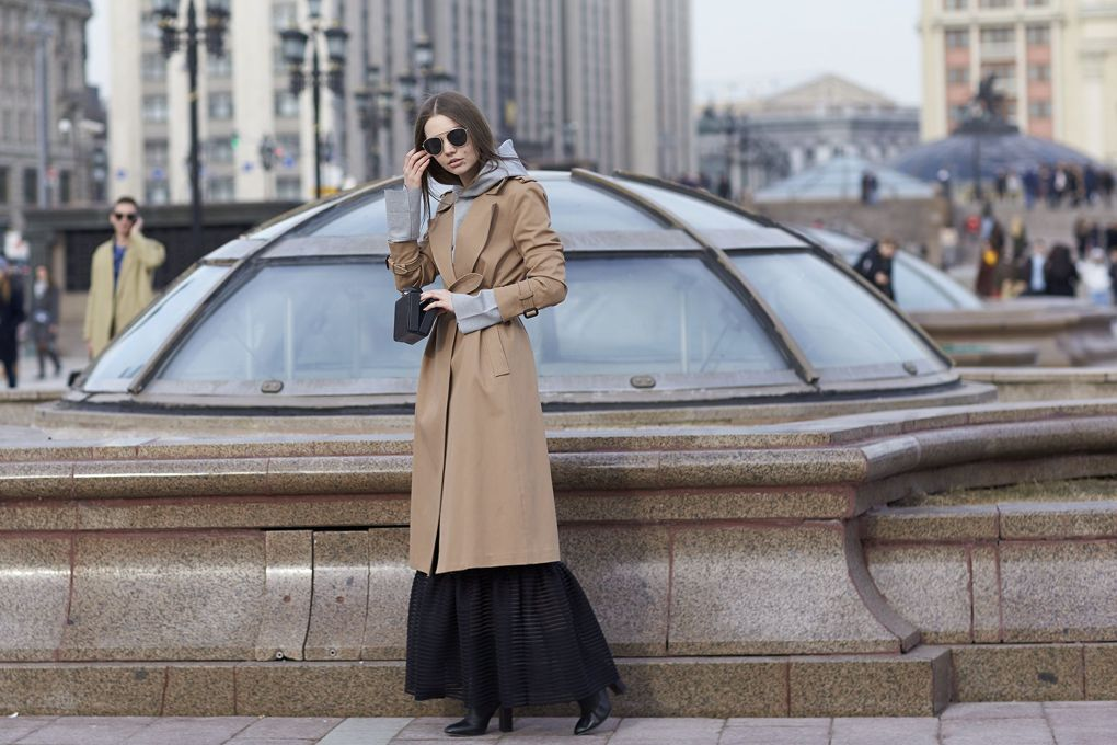 The Evolution Of The Trench Coat - Image From Vogue - Photographer Dvora