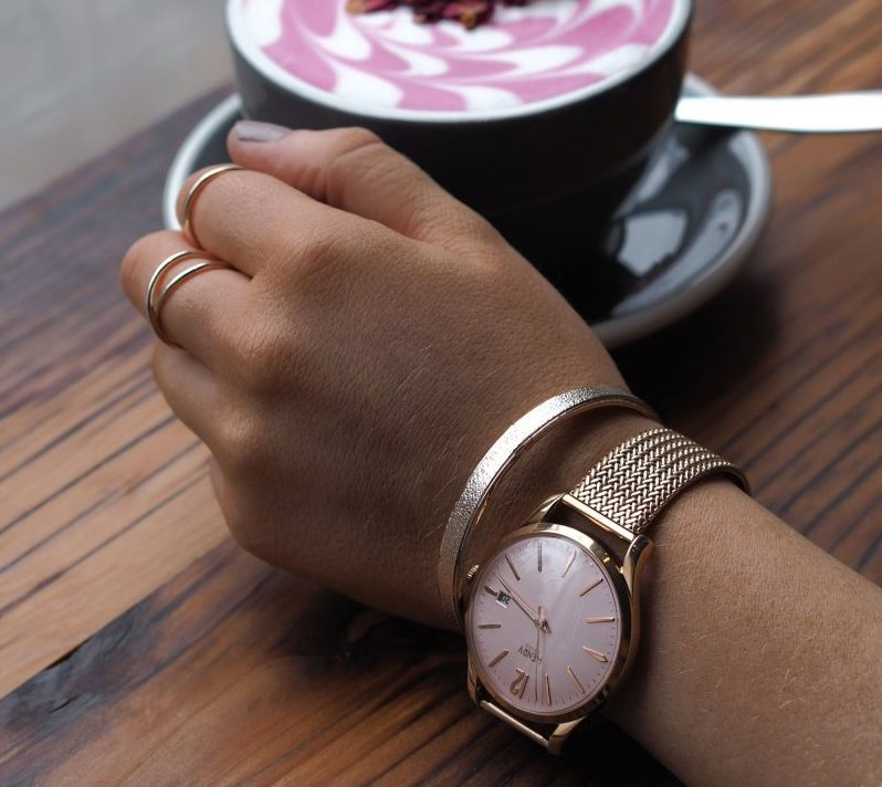 Get It To Go: Top Accessories Trends For Summer 2018 - Henry London Rose Gold Shoreditch Watch