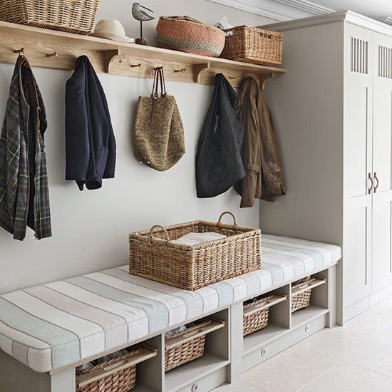4 Key Elements For Designing The Perfect Boot Room - Image From Ideal Home