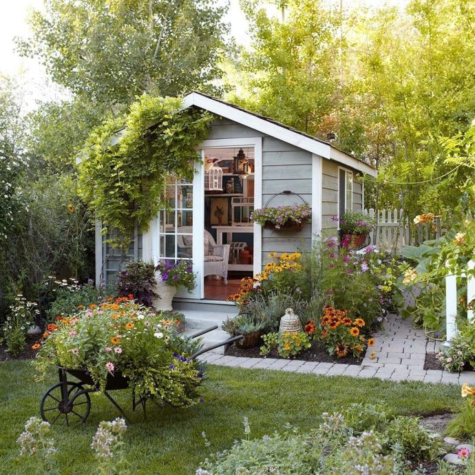 Clever Tricks To Improve Your Outdoor Space - Garden Shed