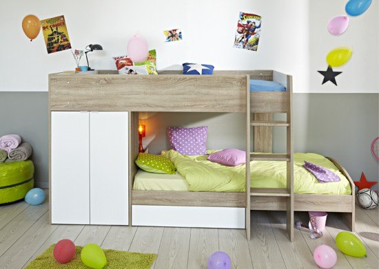 Benefit Of A Good Bed For Kids  - Parisot Stim Bunk Bed - Image From BedKingdom.co.uk