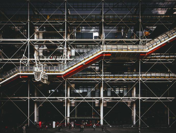 Top 4 Iconic Buildings (Practical Design) In The World - Centre Georges Pompidou