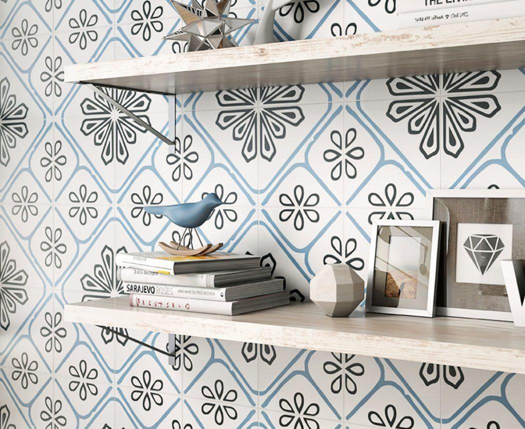 4 Inspiring Patterned Tile Ideas - Porto Porcelain Wall & Floor Tiles