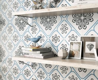 4 Inspiring Patterned Tile Ideas - Porto Porcelain Wall & Floor Tiles