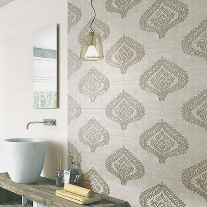 4 Inspiring Patterned Tile Ideas - - Globe Decor Maison Marron Tiles