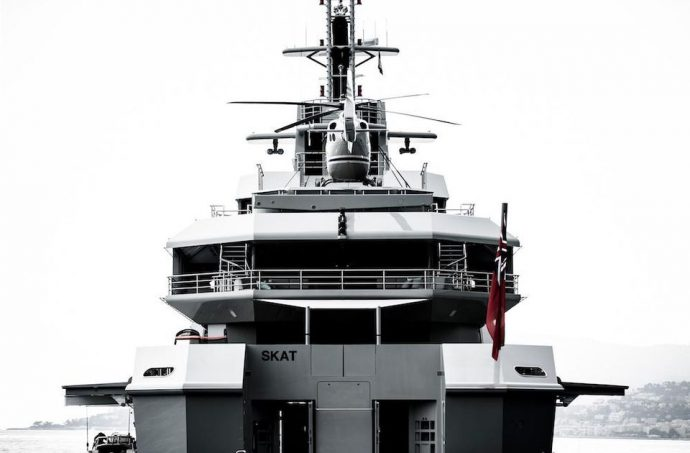 Nobiskrug – Superyacht Design Evolution - SKAT- Image Credit© Guillaume Plisson Via Forbes.com