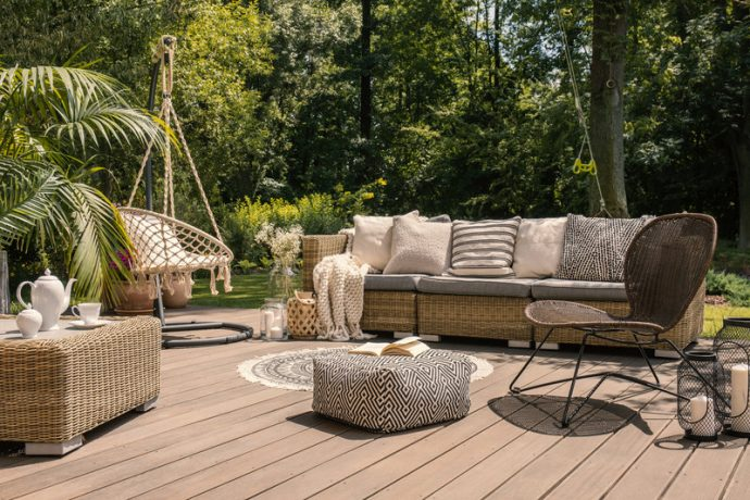 Garden Furniture, Decking