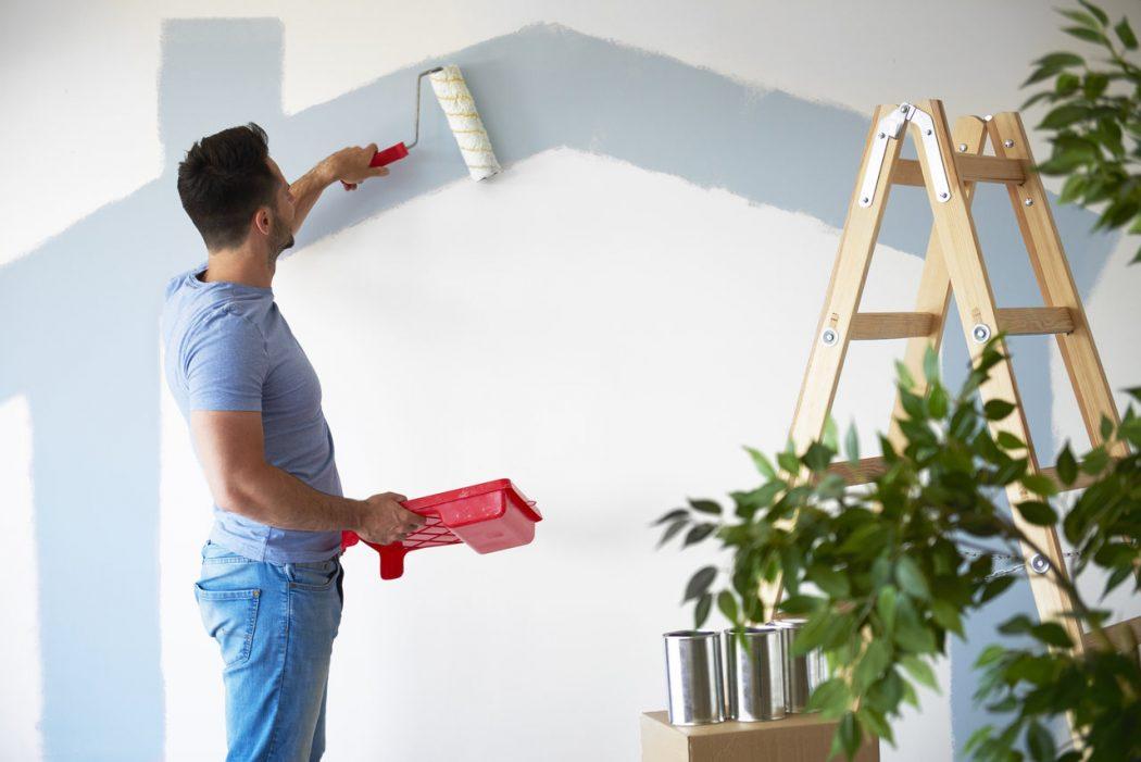 DIY Man Painting