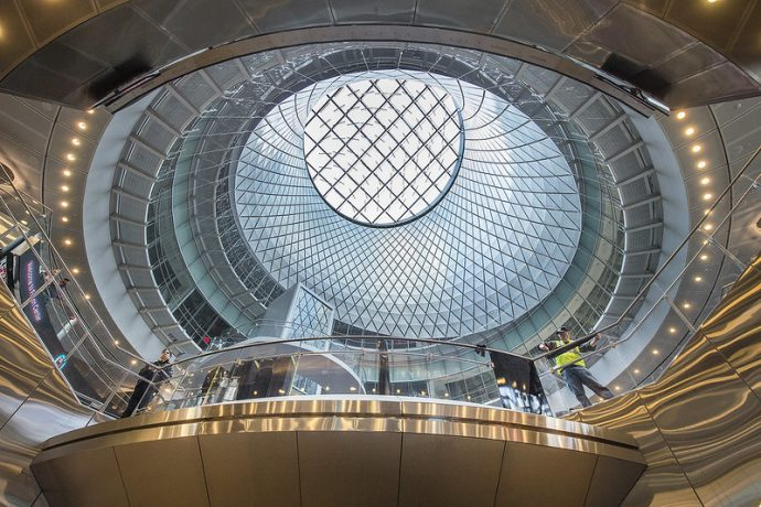 Fulton Centre – New York -Image Via Flickr - By Metropolitan Transportation Authority