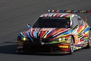 BMW Multicoloured Race Car