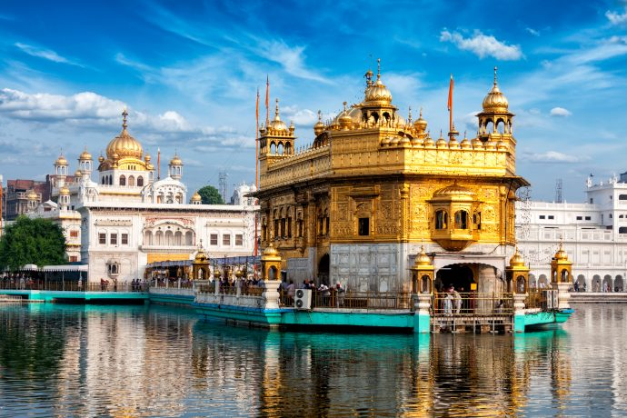 Harmandir Sahib (The Golden Temple of Amritsar)