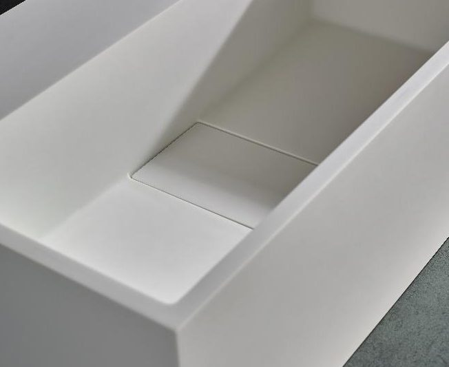 Stone Resin Sink - Image Via clickbasin.co.uk