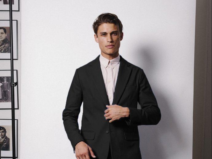 BraveGentleman.com - Classic suit - Black