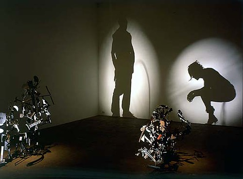 Shadow Sculptures - By Tim Nobel and Sue Webster