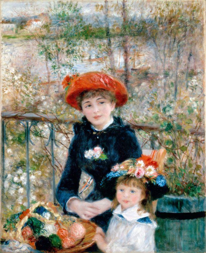 Renoir -Two Sister